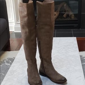 FRYE OVER THE KNEE BOOTS 🎉
